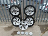Ford Puma alloys tyres sold....