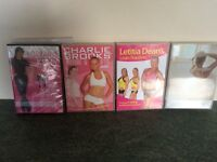 4 Exercise DVD's