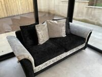 Luxurious Crushed Velvet sofa