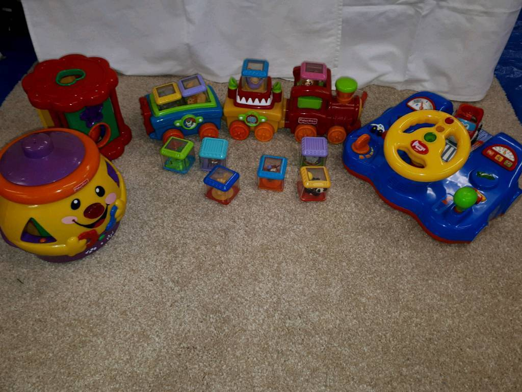 Set 20 - Fisher Price and other toys