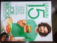 Joe Wicks Lean in 15 the sustain plan. Brand new unwanted gift worth £15