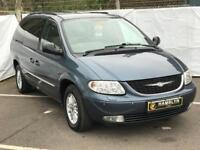 Chrysler Grand Voyager 3.0 Automatic, *7 Seater* Sat Nav, Heated Leather, Rear DVD Player, Warranty