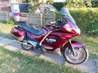 SOLD. SUBJECT TO COLLECTION. Honda ST1100 Pan European. 1999 Red. Ready to use. Mot, New exhaust,