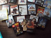 bundle dvd films .mostly comedys all good condition