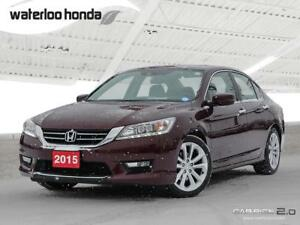 2015 Honda Accord Touring Bluetooth, Back Up Camera, Navigati...
