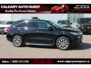 2014 Acura MDX Technology Package AWD/NAVI/B.CAM/3RD ROW/LEATHER