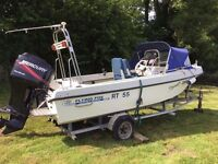 Fast Fisher, Outhill Flying Fox 17ft, Superb Mercury 75hp 4 stroke. Just professionally serviced.