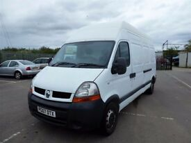 "07 Maxi Roof Renault Master ""Now"" Low miles, ideal 4 Horsebox conversion"