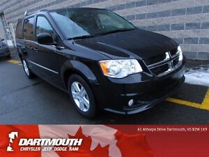 2016 Dodge Grand Caravan CREW/LEATHER/DVD