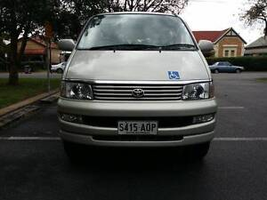 1999 Toyota Hiace Regius Wheelchair Lifter AWD Automatic Welcab Marion Marion Area Preview