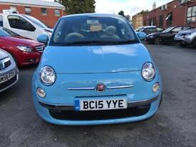 Fiat 500 1.3 petrol 2015 low milage top condition