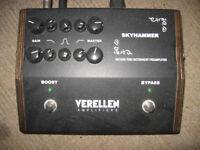Verellen Skyhammer Dual Channel Preamplifier Pedal £700 O.N.O