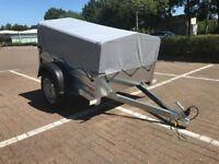 TEMA 1510 NEW GARDEN TRAILER 150 with 40cm cover