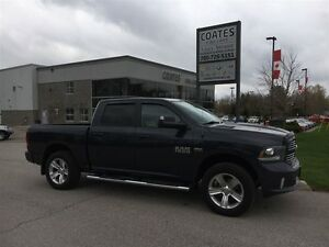 2014 Ram 1500 Crew Sport ~Nav~Backup Camera ~8 Speed