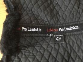 LeMieux Pro Lambskin Numnah medium GP