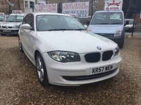 "BMW 116i SPORT """"2009 PLATE F/S/H ALLOYS 6 SPEED MANUAL LOW MILEAGE!!"