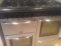 Belling range cooker for sale.