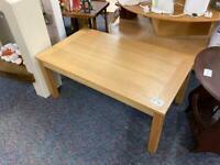 Modern light wood colour coffee table #43621 £25