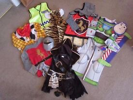 Dressing Up Costumes / Fancy Dress Clothes : Buzz, Woody, Knight, Narnia, Pirate, Tiger and Police
