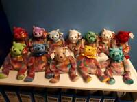 Ty Beanie Babies-12 months of birthday bears