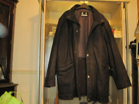 brushed leayher coat dress jacket dress overcoat & bmw racing jacket