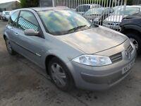 renault megane 1,9 dci parts from 2005 1.9 dci 5 door car grey
