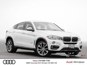 2015 BMW X6 xDrive35i w/NAV+BLUETOOTH+BACKUP CAM