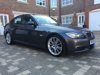2006 BMW 330i M Sport, Auto, i Drive, Sat Nav, Black Leather, Full Service History, Top Spec