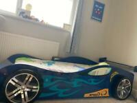 Racing Car Single Bed