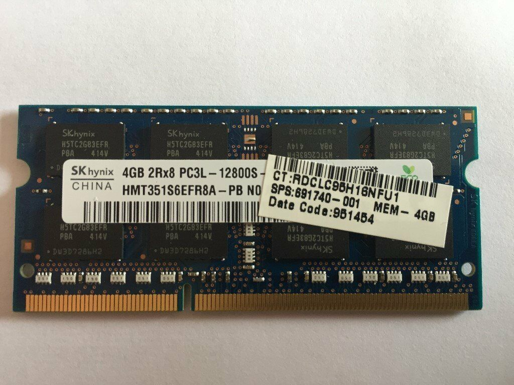 8gb Memory Kit 2 X 4gb Ddr3 Pc3 12800 1600mhz 204 Pin Sodimm For Memori Pc Stuart