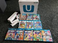 Wii u console and 11 games