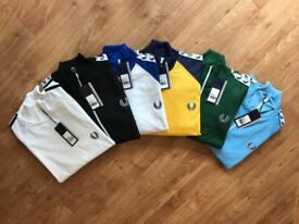 Fred Perry Track Tops Jackets Polo Shirts - Wholesale Only-
