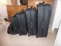 New Set of 5 Suitcases