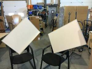 Whiteboards and Corkboards