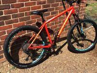 2018 focas bold sl 29er +tires mountain bike