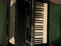 Hohner Tango v Vintage Accordian