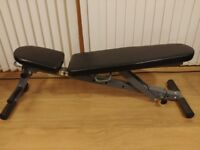 Weight Training Bench 7 in 1 Folding & Adjustable