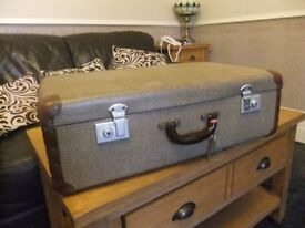 Wedding Prop Chic Vintage Suitcase Dated 1930 - 1940