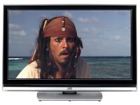 Jvc 42inch LCD HD Ready. 2 hdmi ports. Freeview. Universal remote