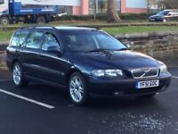 2002 VOLVO V70 2.4 SE * 5 DOOR * MANUAL * FULL HISTORY * LEATHER * PART EX * DELIVERY *