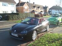 2004 MGTF Stepspeed 120 Black, Leather interior