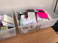 Scrap booking and craft items