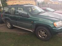 1999 4.0l jeep grand Cherokee limmited spares or repairs obo(read listing)