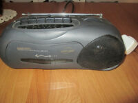 Daewoo Radio/Cassette Player with mains lead