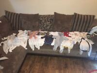 Baby boy clothes bundles- newborn and first month