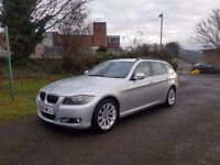 2009 BMW 325D AC TOURING AUTO,3.0CC,DIESEL,SPARES OR REPAIR,DRIVES OK,07858140523