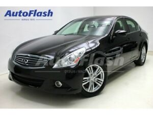 2012 Infiniti G37X Luxury AWD *Camera *Toit-Ouvrant/Sunroof