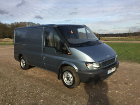 FORD TRANSIT 2.0TD 53 REG - SHORT WHEEL BASE / LOW ROOF - LONG MOT - DRIVES PERFECTLY - NO VAT!!!!!!