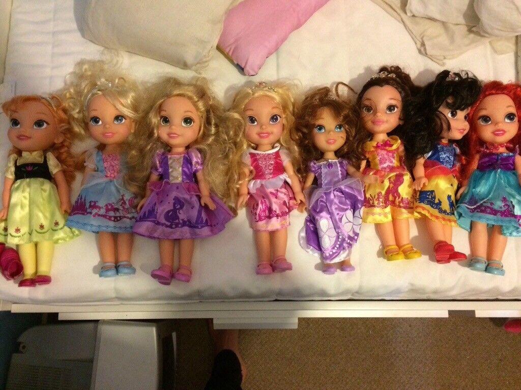 8 Disney Toddler Dolls