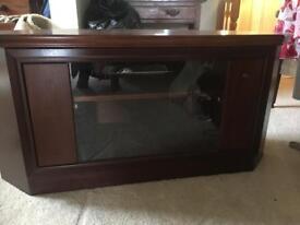 Corner TV unit